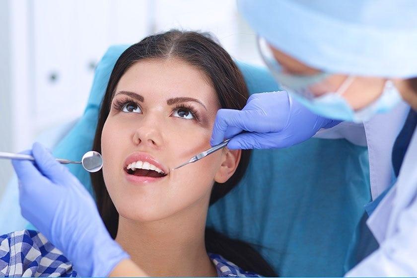 bonding diş uygulaması